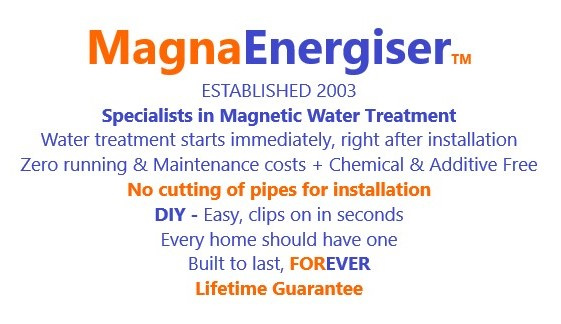 Magnetic water treatment and conditioner